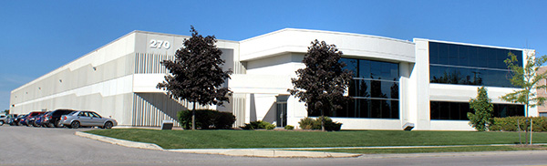 Exterior of our Facility