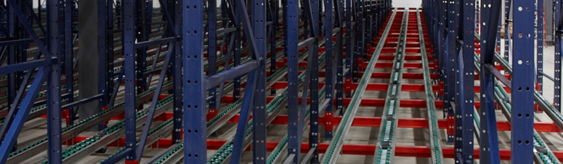 Deep Lane Pallet Flow Systems